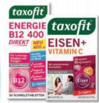Taxofit Eisen + Vitamin C Kapseln von Klosterfrau