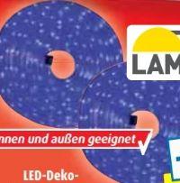 LED-Deko-Lichterschlauch von Lampura