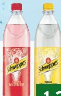Erfrischungsgetränk von Schweppes