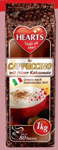 Cappuccino von Hearts - Preise mit Herz