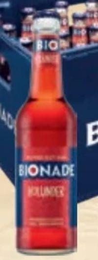 Biologisches Erfrischungsgetränk von Bionade