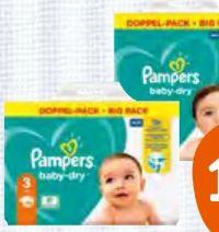 Doppelpack Baby-Dry Windeln von Pampers