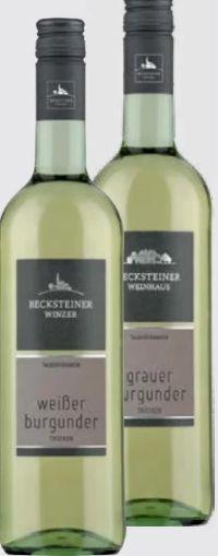 Weißer Burgunder von Becksteiner Winzer