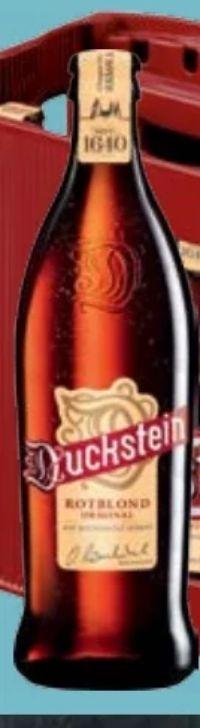 Bier von Duckstein