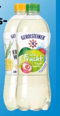 Erfrischungsgetränke von Gerolsteiner