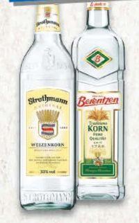 Traditionskorn von Berentzen