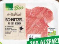 Bio Schweineschnitzel von Edeka Bio