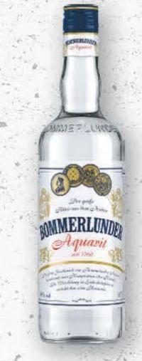 Aquavit von Bommerlunder
