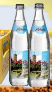 Mineralwasser von Artesia