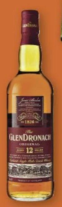 Single Malt Whisky von GlenDronach