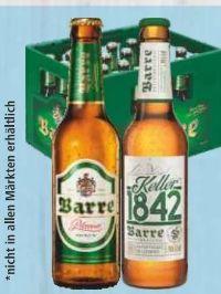 Bier von Brauerei Barre