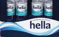 Mineralwasser von Hella