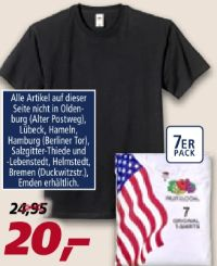 T-Shirt von Fruit of the Loom