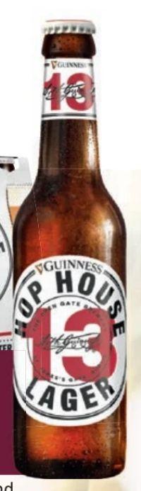 Lager Hop House von Guinness