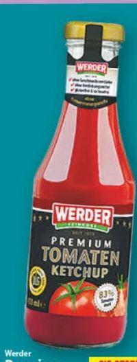 Premium Tomaten Ketchup von Werder