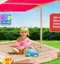 Holzsandkasten von Happy People