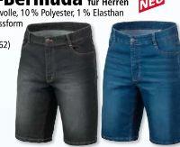 Herren Jeans-Bermuda von Ronley