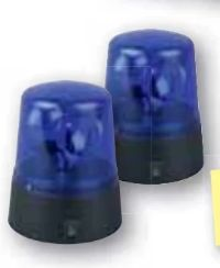 Dekoleuchte Blaulicht