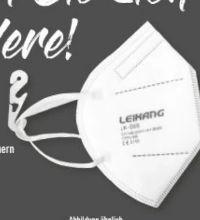 FFP2-Atemschutzmaske von Leikang