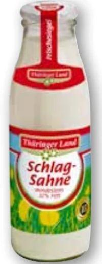 Schlagsahne von Thüringer Land