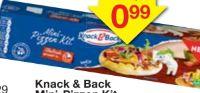Mini Pizzen Kit von Knack & Back