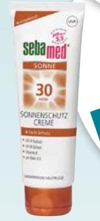 Sonnenschutz Creme von Sebamed