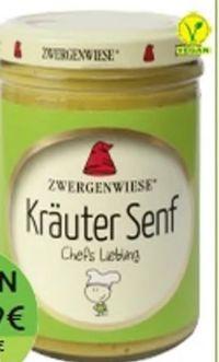 Bio Kräuter Senf von Zwergenwiese