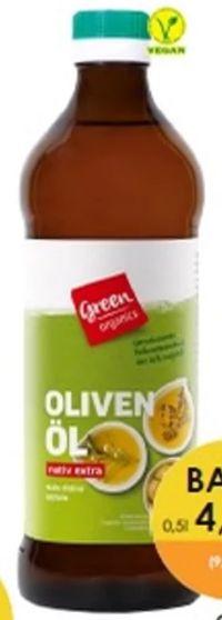 Bio Oliven-Öl von Greenorganics