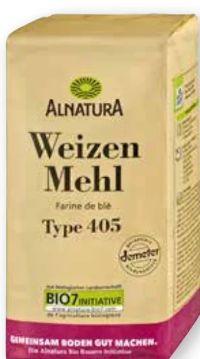 Bio Weizen Mehl von Alnatura