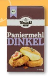 Bio-Dinkel-Paniermehl von Bauckhof