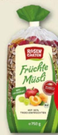 Bio-Früchte Müsli von Rosengarten