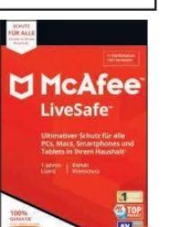 LiveSafe von McAfee