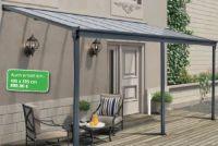 Aluminium-Terrassenüberdachung