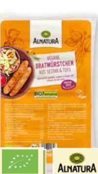 Bio Vegane Bratwürstchen von Alnatura