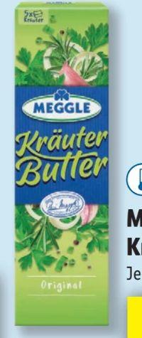 Kräuterbutter von Meggle