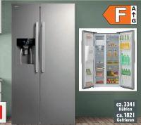 Kühl-Gefrierkombination SBSN 398 010E von Amica