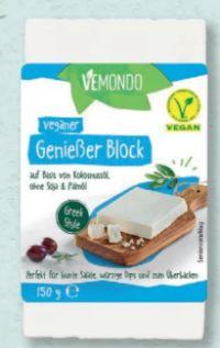 Vegane Käse-Alternative von Vemondo