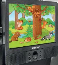 Tragbarer DVD-Player von SilverCrest