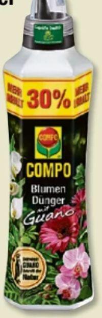 Blumendünger mit Guano von Compo