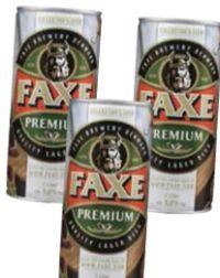 Lagerbeer von Faxe