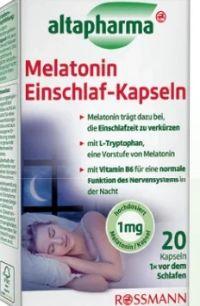 Melatonin  Einschlaf- Kapseln von Altapharma