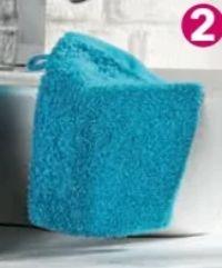 Waschhandschuh Korfu von Sensino