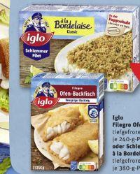 Filegro traditioneller Ofen-Backfisch von Iglo