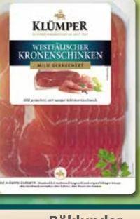 Kronenschinken von Klümper