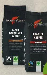 Bio-Röstkaffee von Mount Hagen