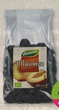 Bio Getrocknete Pflaumen von Dennree