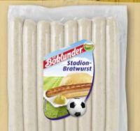 Stadion-Bratwurst von Böklunder
