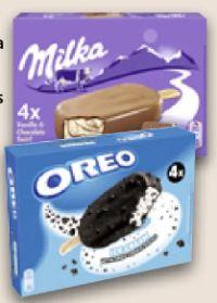 Stieleis Vanilla & Chocolate Swirl von Milka