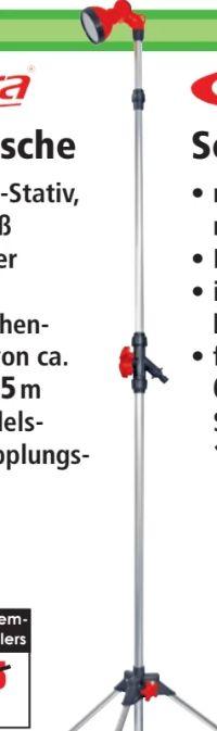 Gartendusche von Carrera Tools