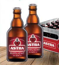 Rotlicht von Brauerei Astra